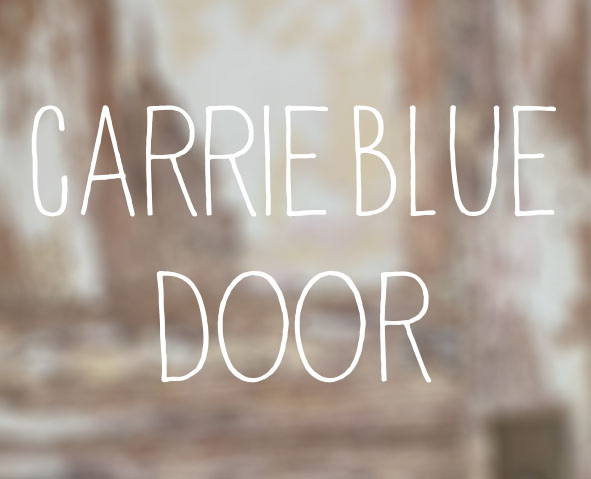 carrie-blue_door